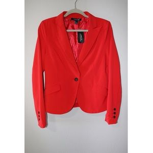 NWT 🌟 RED JACKET / BLAZER FOREVER 21